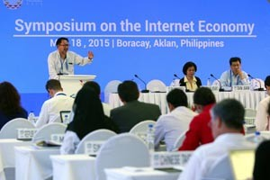 Symposium on the Internet Economy | Boracay, Philippines | May 18, 2015