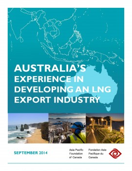 Australia's Experience in Developing an LNG Export Industry