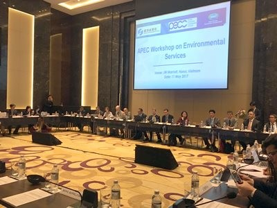 APEC Environmental Services Trade Policy Dialogue | Hanoi, Vietnam | May 11, 2017