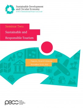 Sustainable Development and Circular Economy (Seminar 2): Sustainable & Responsible Tourism | Papeete, French Polynesia | November 20-21, 2017