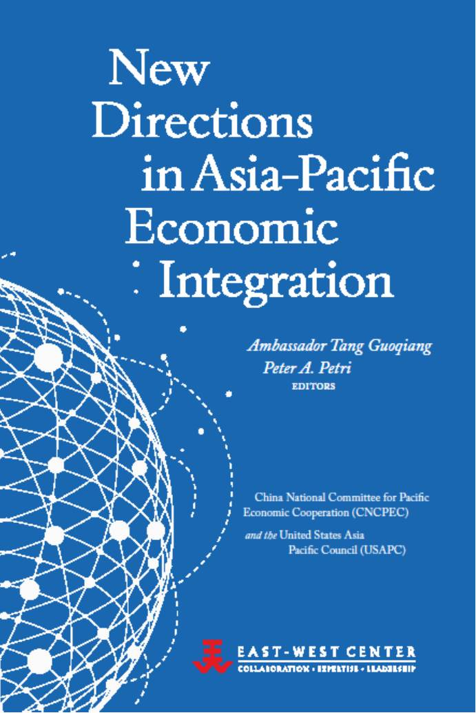 Publications 2014 New Directions in Asia-Pacific Economic Integration cover